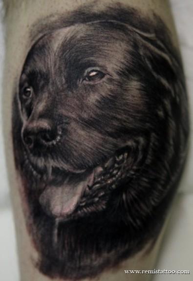 Tattoos - Dog portrait - 51668