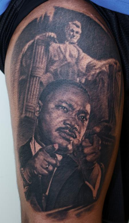 Tattoos - Martin Luther King Tattoo - 59980