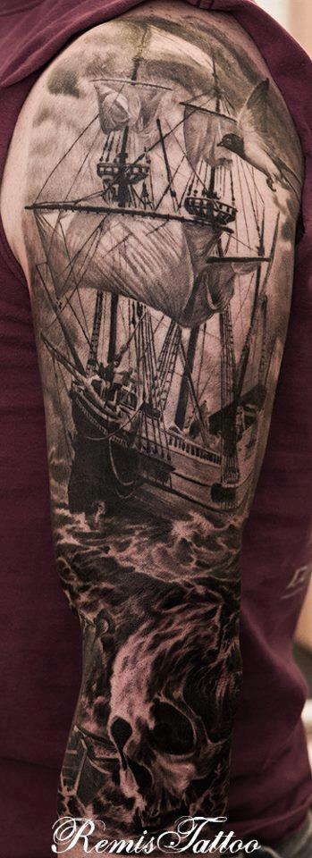 Pirate Tattoo Tattoo Design