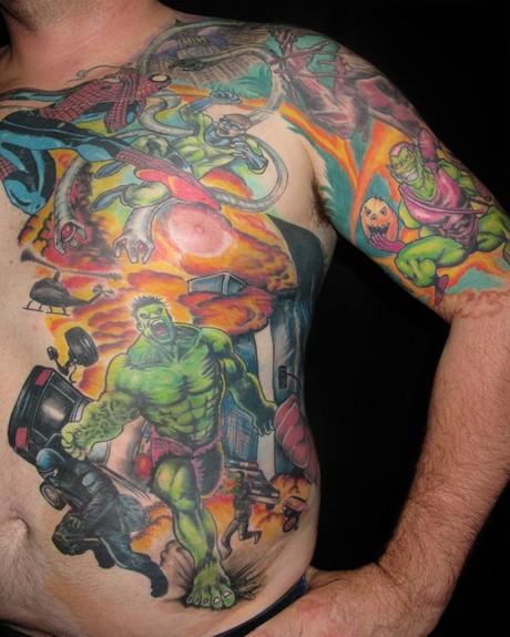the hulk tattoo by asho libre tattoonow. Black Bedroom Furniture Sets. Home Design Ideas