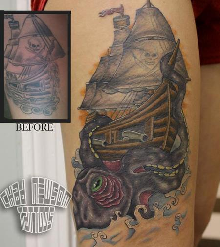 Tattoos - cover up/ rework