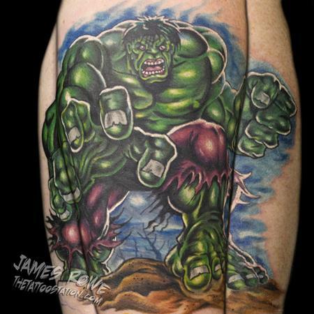 James Rowe - The Incredible Hulk (original art/Marvel Comics)