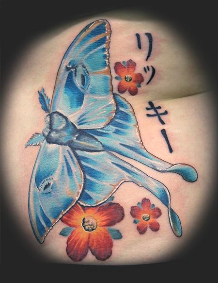 Tattoos - Luna Moth - 62245