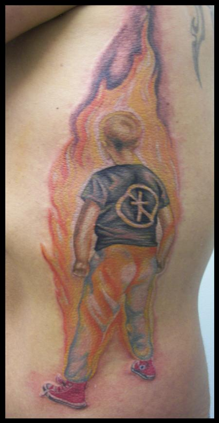 James Rowe - Bad Religion Tattoo