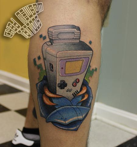 Chad Newsom - game boy
