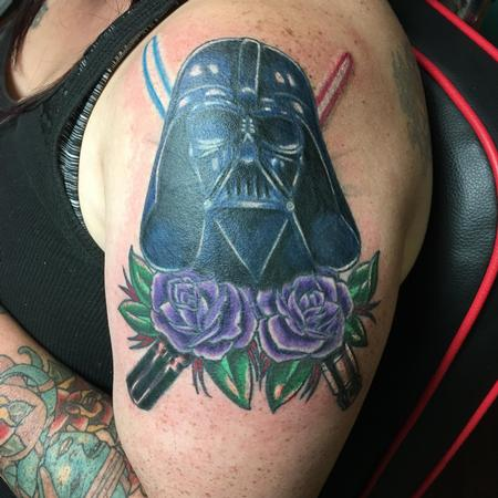 Darth Vader  Tattoo Design