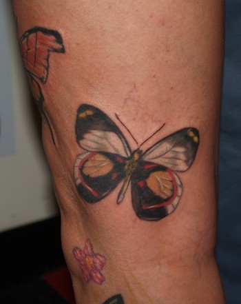 Butterfly Wrist Tattoo Designs