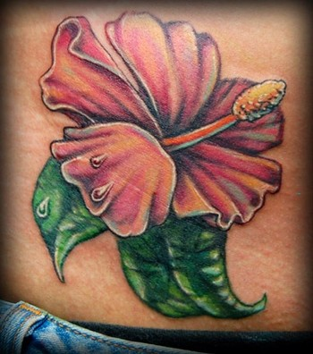 hibiscus flowers tattoos. Tattoos Flower. hibiscus