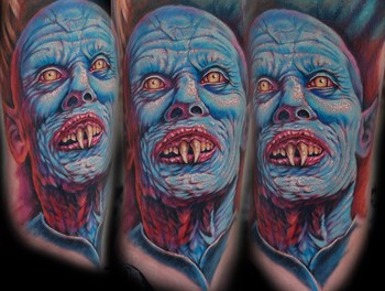 Evan Olin - Salems lot tattoo