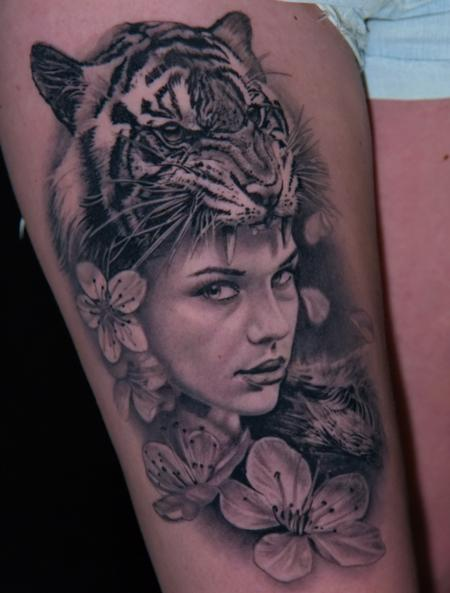 Huntress Tattoo Thumbnail