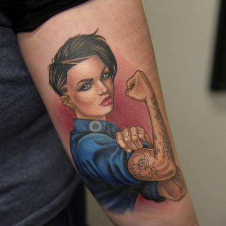 Tattoos - Ruby Rose - 134221