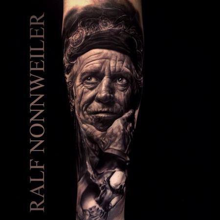 Keith Richards Tattoo Design Thumbnail