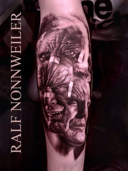Tattoos - Marv Portrait Tattoo - 115689