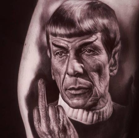 Ralf Nonnweiler - Spock Tattoo