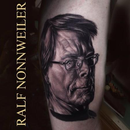 Stephen King Tattoo Design