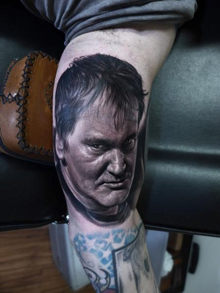 Quentin Tarantino Tattoo Tattoo Design