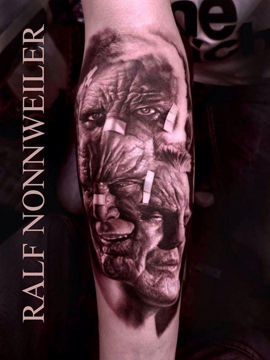 Sin City - Marv by Ralf Nonnweiler : Tattoos