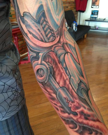 Tattoos - Terminator Arm - 109165