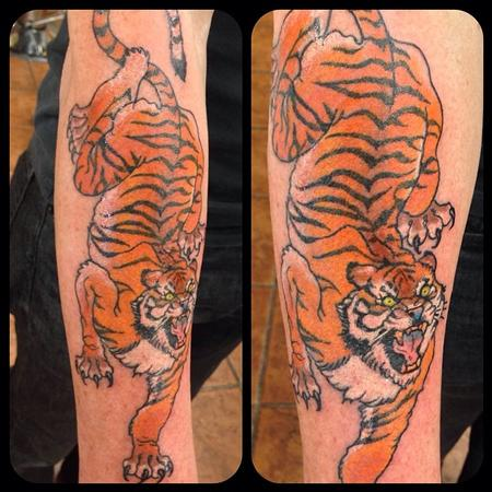 Arm Tiger Color Design Thumbnail