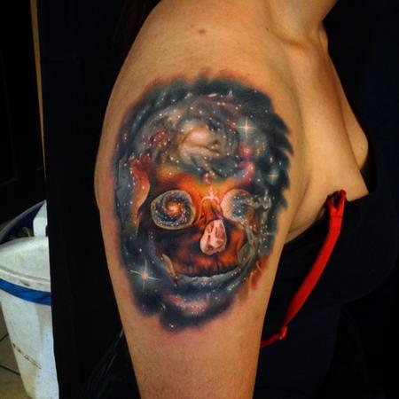 Tattoos - Space Skull - 103558