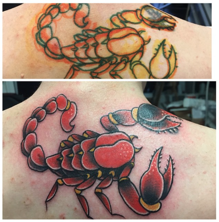 Tattoos - Scorpion  - 110181