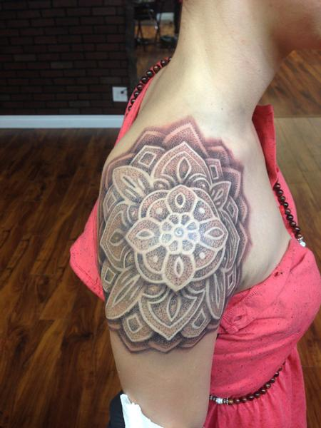 Tattoos - flower mandala - 86600
