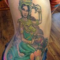 Tattoos - mermaid - 86596