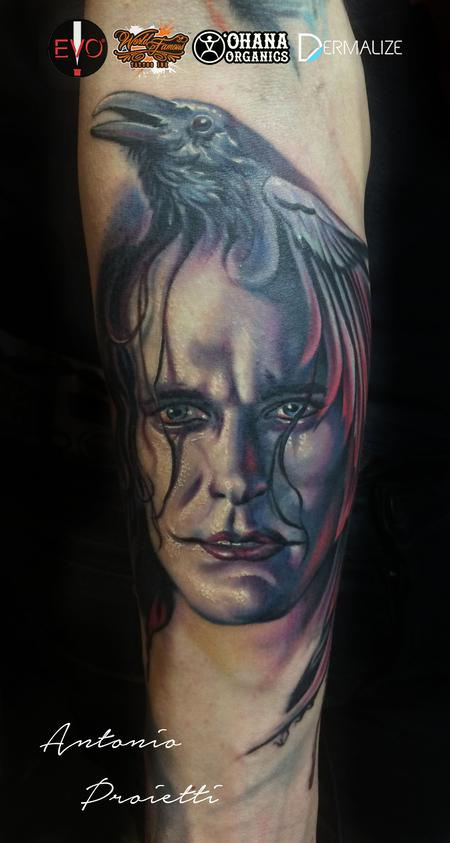 Antonio Proietti - The Crow