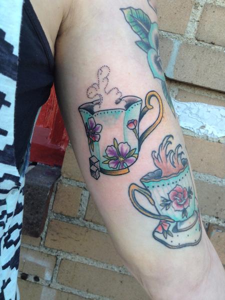 Tattoos - Tea Cups - 99797