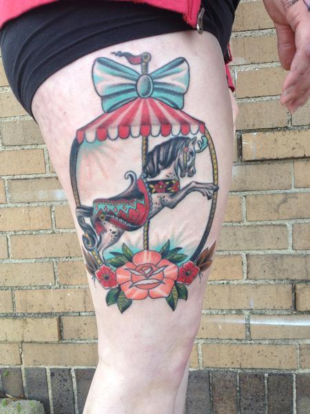 Tattoos - Carousel Horse - 99798