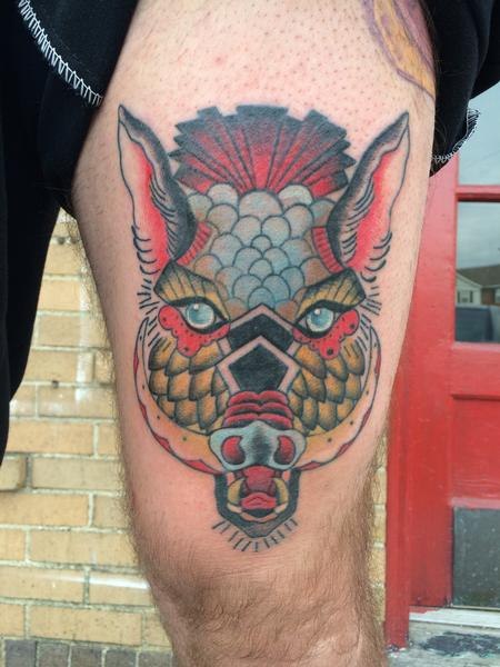 Tattoos - Wild Boar - 99796