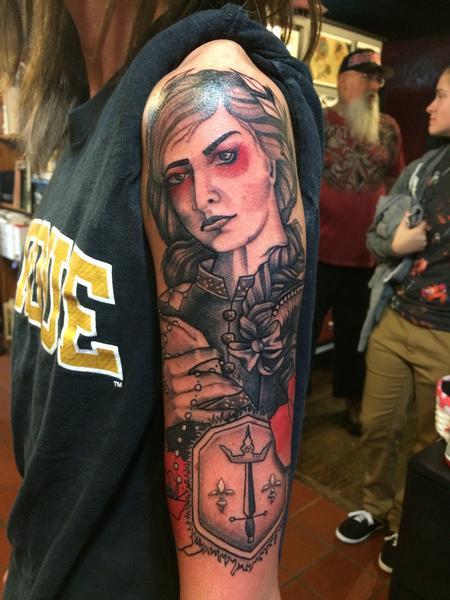 Tattoos - Joan of Arc - 99802