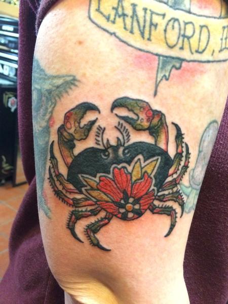 Tattoos - Crab - 101161