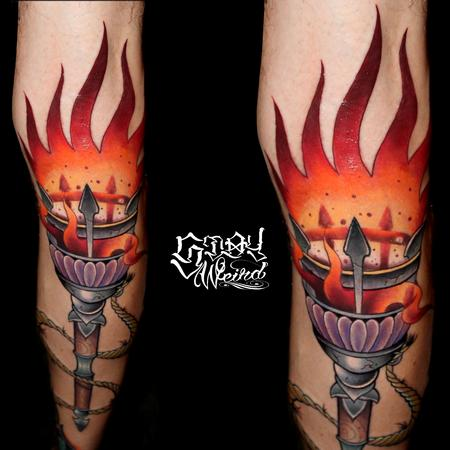 Middle Ages Torch Design Thumbnail