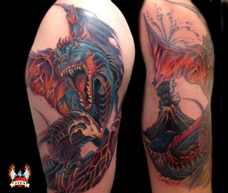 Tattoos - Fantasy Dragon - 109062