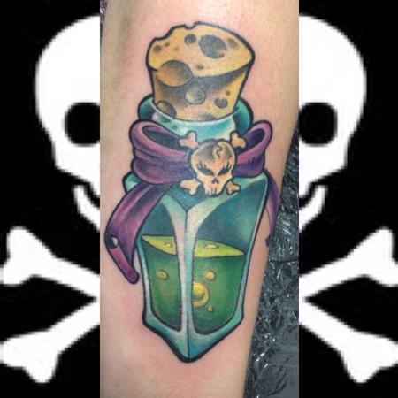 Tattoos - Poison Bottle - 115901