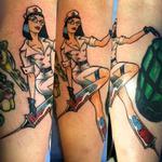 Helllloooo Nurse Tattoo Design Thumbnail