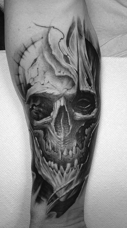 Travis Greenough - Skull