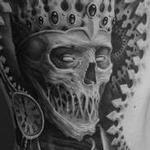 Tattoos - Dead King Rib Tattoo - 120113