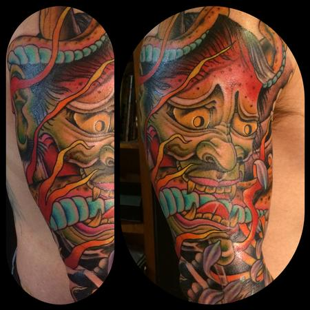 Tattoos - Hannya with snake - 116891