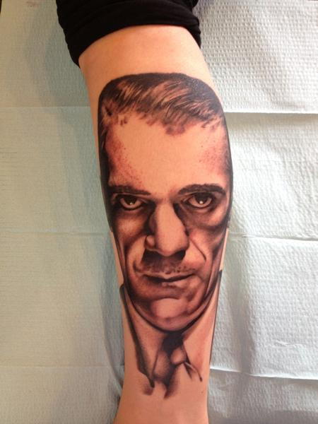 Boris Karloff portrait Design Thumbnail