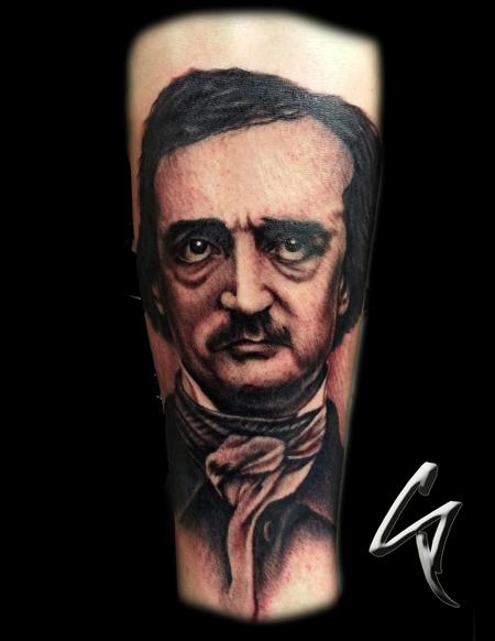 Tattoos - Edgar Allen Poe - 100484