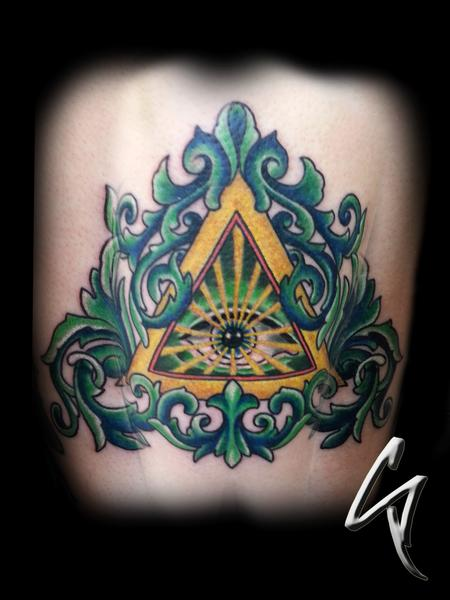 Tattoos - All Seeing Eye - 100485