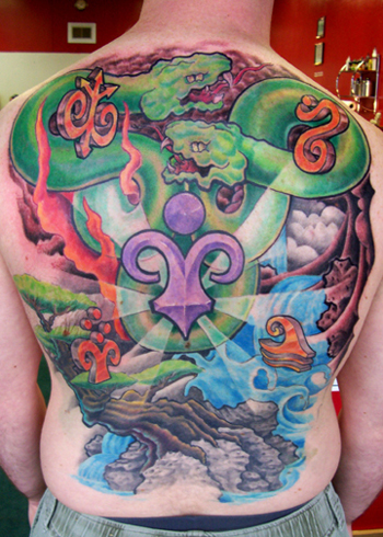 Elements Tattoo by Chad Stone: TattooNOW