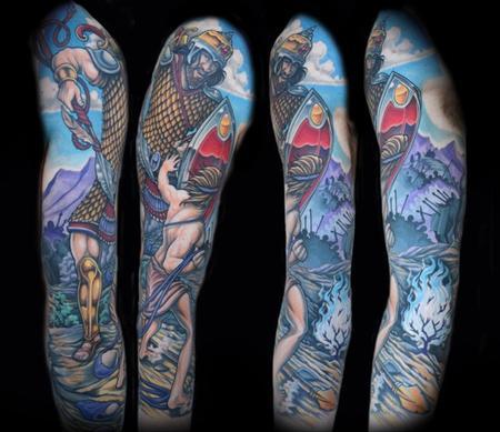 Tattoos - David and Goliath - 102230