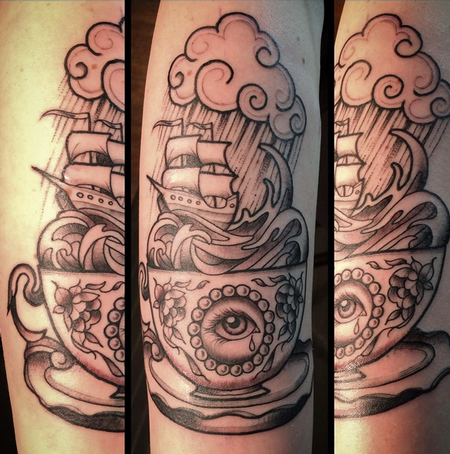 Tattoos - Stormy Teacup - 114543