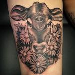 3 eyed calf Tattoo Design Thumbnail