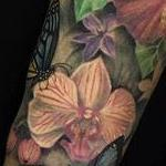 Realistic Color Flower Bouquet Tattoo Tattoo Design Thumbnail