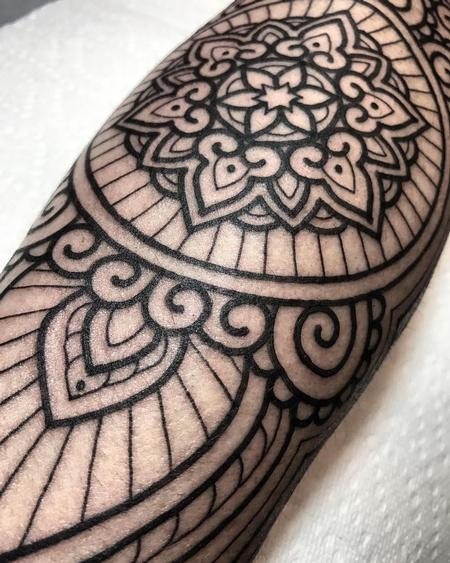 Tattoos - Ornamental Blackwork - 125454