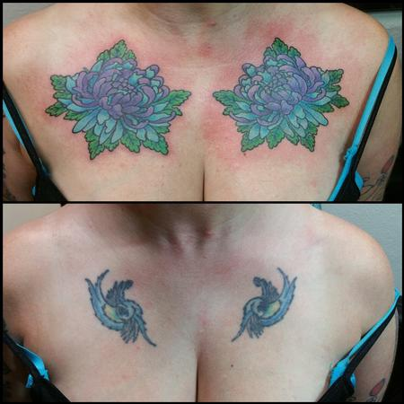 Tattoos - Lotus Flower Cover Up - 120465